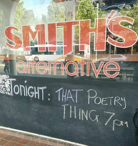 That Poetry Thing That Is On At Smith's Every Other Monday Night